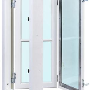 kopplade fönster 2+1