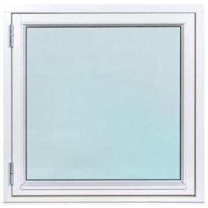 sidohängt fönster
