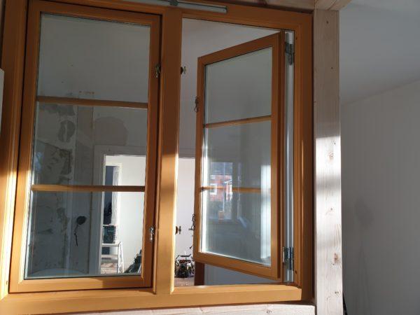 Allomgefönster sidohängt 2 luft 3 glas