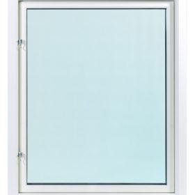 Fast aluminiumfönster 3 glas