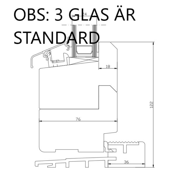 priser altandörr fönsterdörr 3 glas