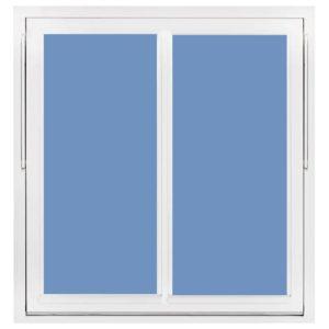 Priser Vridfönster trä fast mittpost med aluminium utvändigt, 3 glas H-fönster