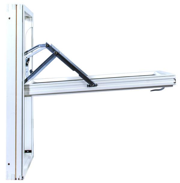 Priser vridfönster trä med aluminium 3 glas