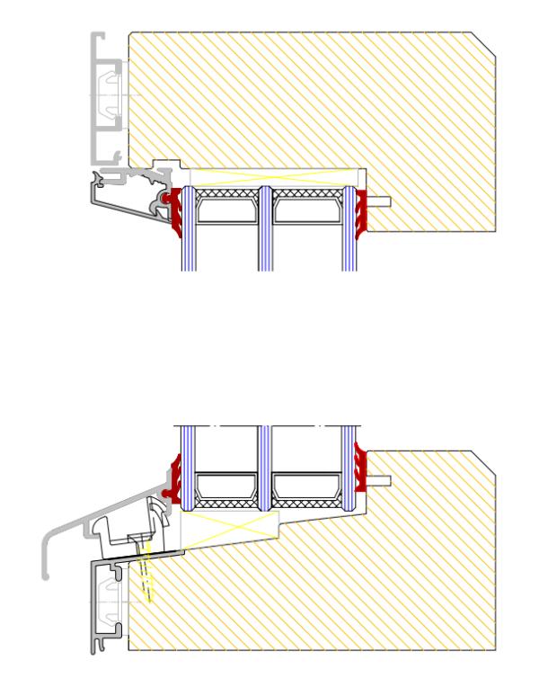 fast aluminiumfönster