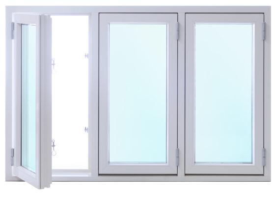 Pris kopplat fönster kopplade 2+1 träfönster 3 luft fönster