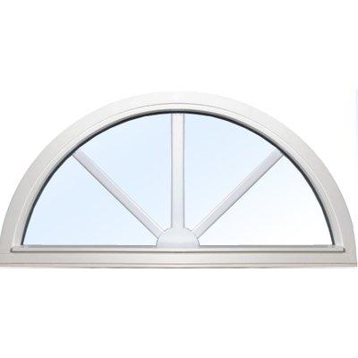 pris priser på runda halvrunda fönster