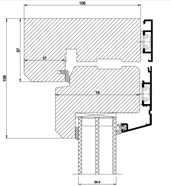 pris vridfönster med aluminium 3 glas